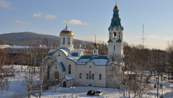 Cathedral of the Resurrection in Yuzhno-Sakhalinsk