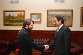 DECR chairman meets with Ambassador of Lebanon to Russia