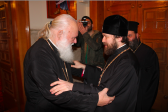 Metropolitan Hilarion of Volokolamsk meets with Primate of the Greek Orthodox Church