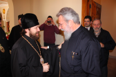 Metropolitan Hilarion of Volokolamsk meets with Primate of the Orthodox Church of Cyprus