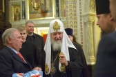 The 5th anniversary of Patriarch Kirill's enthronement marked by Divine Liturgy
