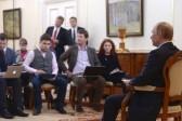 Putin Denies Sending Russian Troops to Crimea