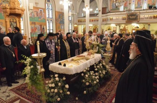 OCA represented at Funeral of Metropolitan Philip
