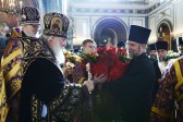 Patriarch Kirill celebrates Liturgy on the day of the 38th anniversary of his episcopal consecration