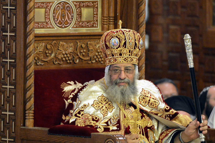Egypts Coptic Pope To Visit Moscow A Russian Orthodox Church Website