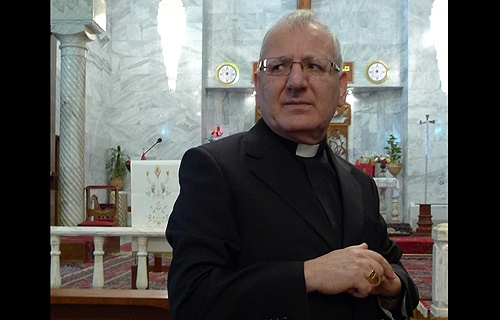 Iraq Archbishop Louis Sako.