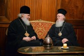 Brotherly meeting of Primates of Church of Constantinople and Russian Church takes place at the Patriarchate of Constantinople