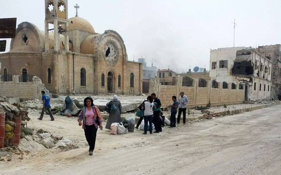 Greek Orthodox Church of St. Elias in Qusayr, Homs.