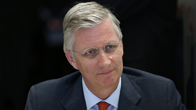King Filip-Philippe of Belgium (Reuters / Francois Lenoir)