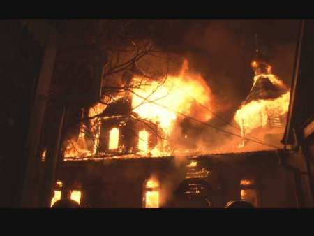 The St. Alexander Nevsky Church in Khabarovsk Has Burned Down and its Benefactor Been Killed