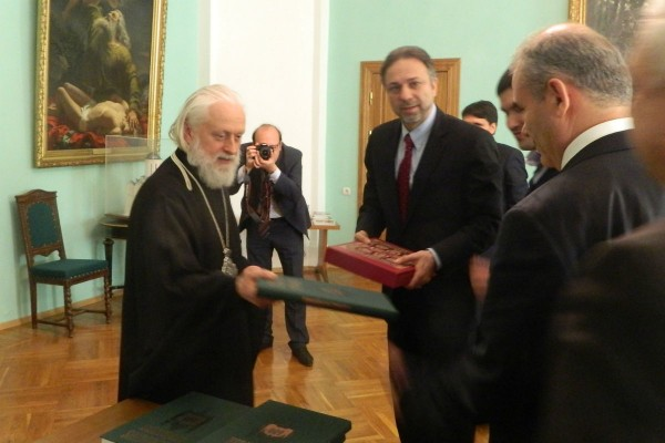 Delegation of Turkey's Presidency of Religious Affairs visit St. Sergius Monastery of the Trinity and Moscow Theological Schools