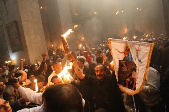 Russian Foundation to deliver Holy Fire from Jerusalem to Crimea