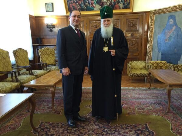Bulgarian Patriarch meets with Turkish Ambassador to Bulgaria