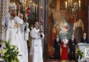 About 7,000 people gathered at Moscow's Cathedral of Christ the Saviour for Easter service