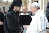 Russian Orthodox Church delegation visits Vatican and meets with Pope Francis