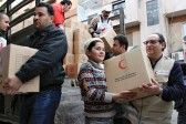 Russia to continue humanitarian aid to Syria