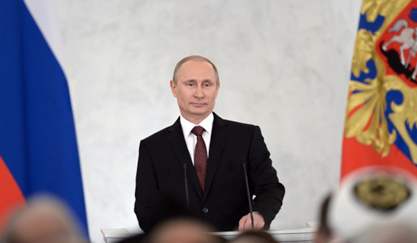Putin notes role of Orthodox Church in harmonization of national, religious relations