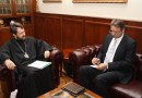 Metropolitan Hilarion meets with the head of Foreign Relations Department of the Presidency of Religious Affairs of the Republic of Turkey