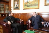 Metropolitan Hilarion of Volokolamsk meets with British Ambassador to Russia