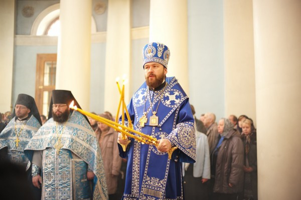 Metropolitan Hilarion: the Mother of God always comes to our aid and always hears our prayers