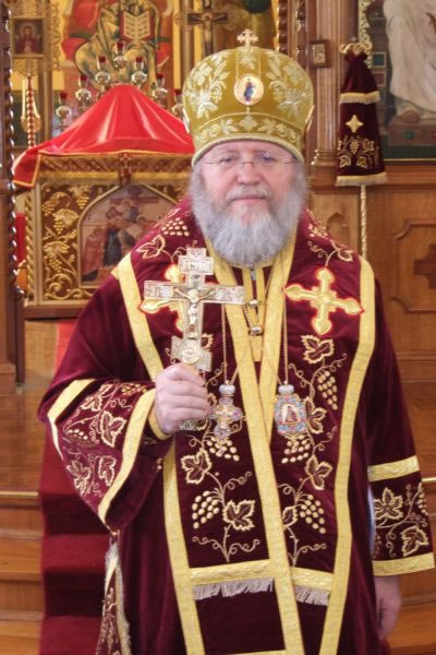 His Eminence Metropolitan Hilarion of Eastern America and New York Sends Paschal Greetings to His Holiness Patriarch Kirill of Moscow and All Russia