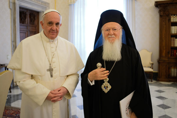 Pope Francis will visit Ecumenical Patriarchate and meet with His-All Holiness Ecumenical Patriarch Bartholomew