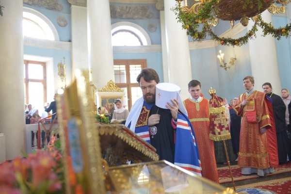 Metropolitan Hilarion: the whole experience of our Church and our own experience of life in the Church attest that Christ has Risen