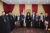 His Beatitude Patriarch John X of Antioch receives delegation from Russia