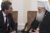President meets Bulgarian church Patriarch ahead of trip to Rome for canonisation of Popes