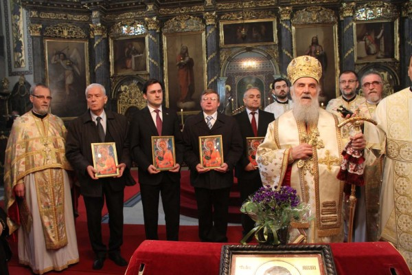 Patriarch Kirill congratulates the Primate of the Serbian Orthodox Church on Slava, the day of his family's patron saint