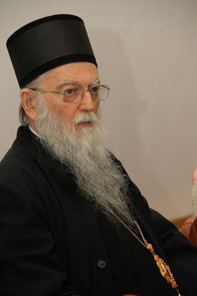 Metropolitan Hilarion's condolences over the death of Metropolitan Ioann of Zagreb and Ljubljana, Serbian Church