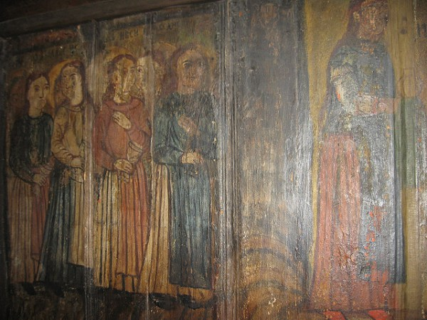 Five foolish virgins; Jercalai Monastery, Romania