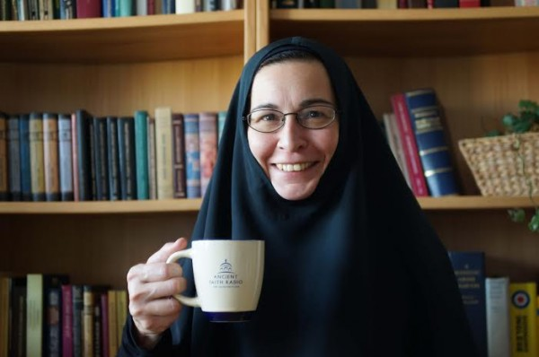 Coffee with Sr. Vassa: The Protection of the Mother of God, or Impropriety is no Obstacle to Prayer