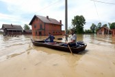 Russian Orthodox church helps flood victims in Serbia
