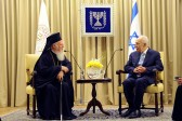 Ecumenical Patriarch Bartholomew Meets with Israeli and Palestinian Leadership before departing Holy Land