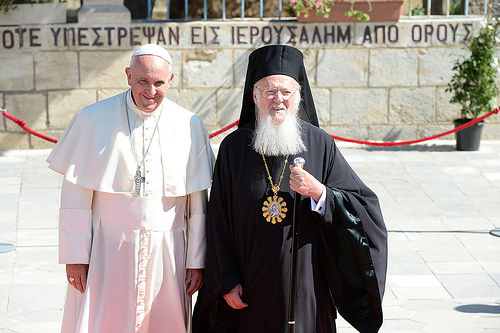 Ecumenical Patriarch Bartholomew Concludes Meetings With Pope Francis In Jerusalem