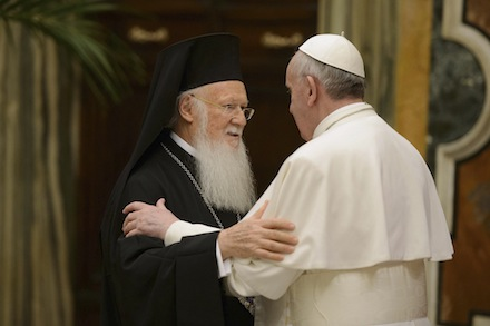 The Meeting of Ecumenical Patriarch Bartholomew and Pope Francis in the City of Jerusalem