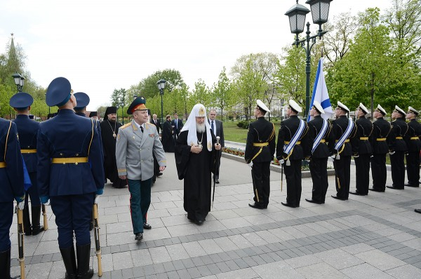 Patriarch Kirill: We Also Stand With You On Guard for our Homeland