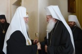 Patriarch Neofit of Bulgaria, Patriarch Kirill I of Moscow head solemn May 24 ceremony