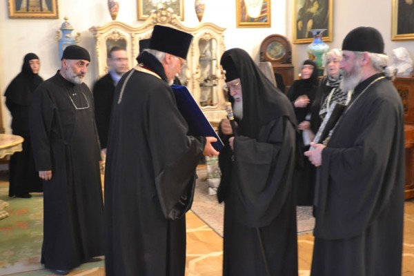 The Myrrh-Bearing Hawaiian-Iveron Icon of the Mother of God is Ceremoniously Greeted in Georgia