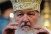 Patriarch Kirill prays at the Kremlin wall for perished in Ukraine