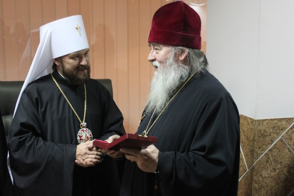Russian Orthodox Church on Ukraine's entry ban for Metropolitan Hilarion of Volokolamsk
