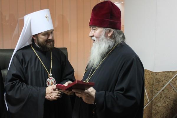 Russian Orthodox Church on Ukraine's entry ban for Metropolitan Hilarion of Volokolamsk