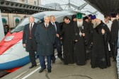 Patriarch Neophyte of Bulgaria arrives in St. Petersburg