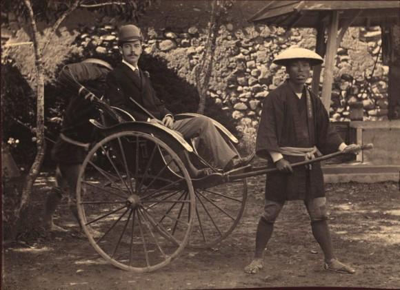 The Tsarevich-heir in Nagasaki, 1891