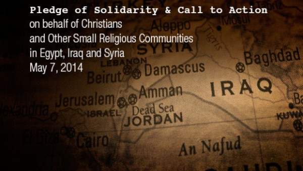 Pledge of Solidarity & Call to Action