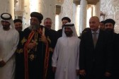Coptic Pope praises UAE leaders for supporting stability in Egpyt