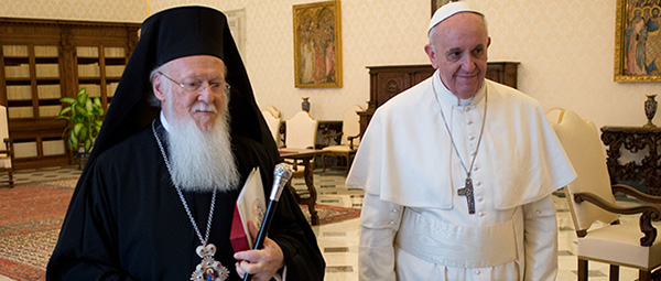 Joint Statement Celebrating the Meeting of Ecumenical Patriarch Bartholomew and Pope Francis