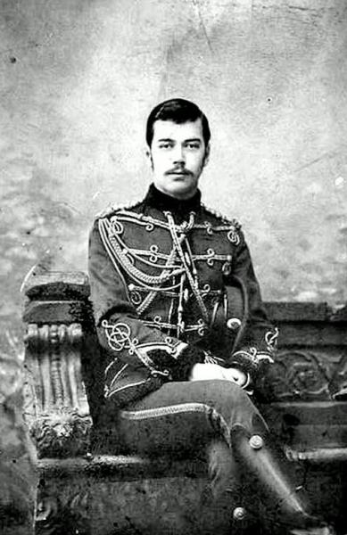 Tsarevich Nicholas Alexandrovich, 1891