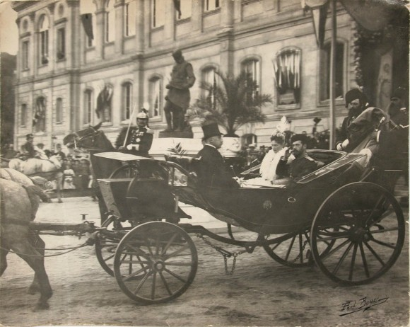 Visit of the Imperial Couple to Paris, 1896